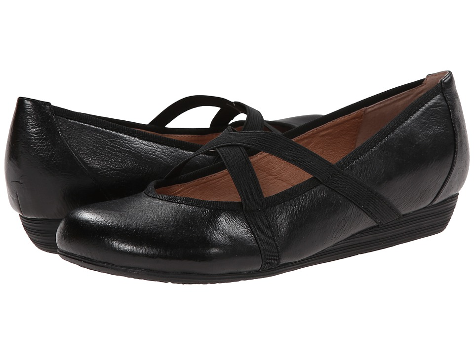 Miz Mooz - Deb (Black) Women's Flat Shoes