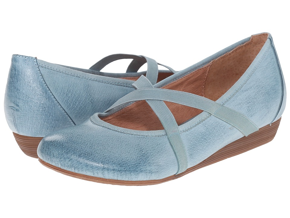 Miz Mooz - Deb (Sky) Women's Flat Shoes