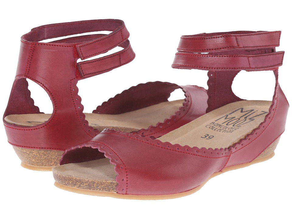 Miz Mooz - Bridget (Wine) Women's Shoes