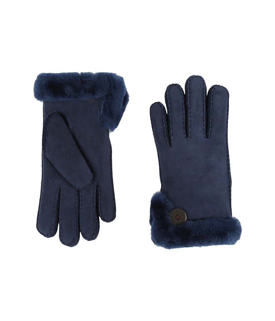 UGG - Side Vent Bailey Glove (Indigo Blue) Extreme Cold Weather Gloves