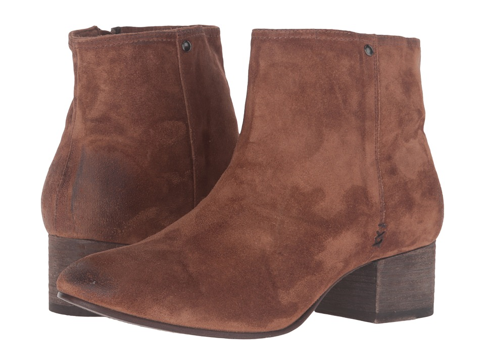 Trask - Vivian (Teak Italian Suede) Women's Boots