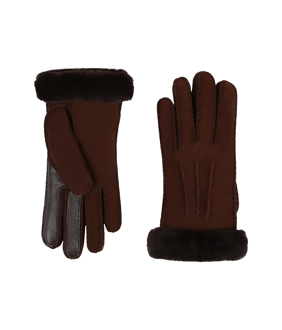 UGG - Carter Smart Glove (Chocolate) Extreme Cold Weather Gloves