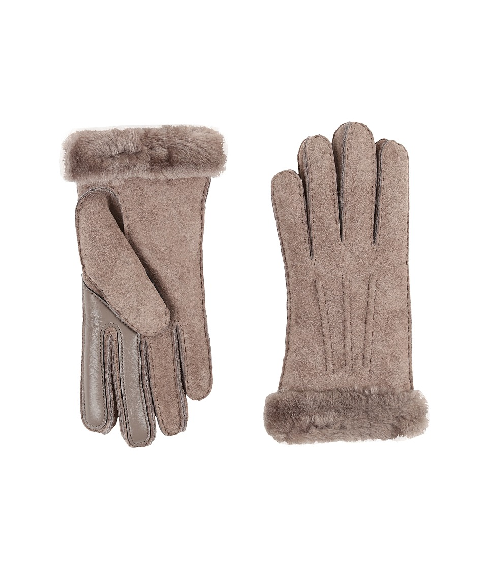UGG - Carter Smart Glove (Stormy Grey) Extreme Cold Weather Gloves