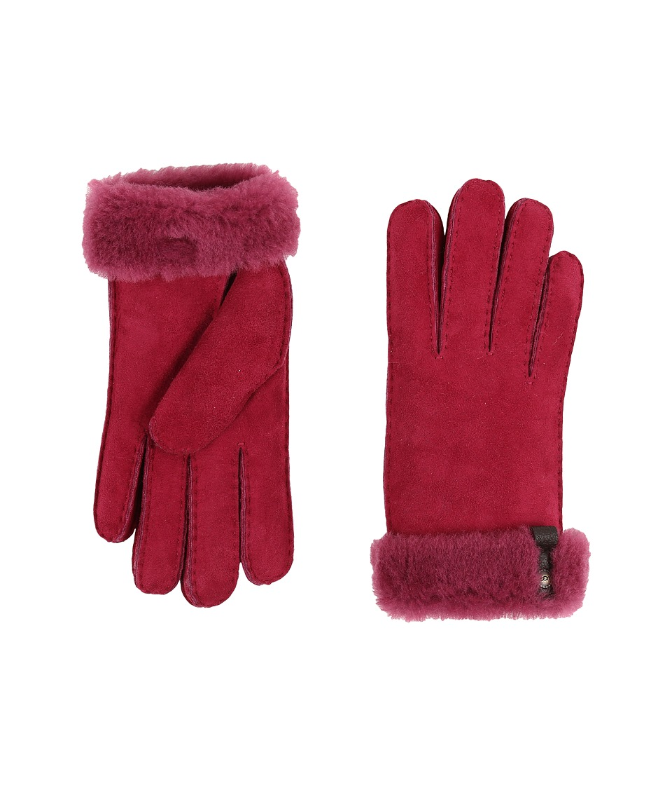 UGG - Tenney Glove with Leather Trim (Lonely Hearts Multi) Dress Gloves