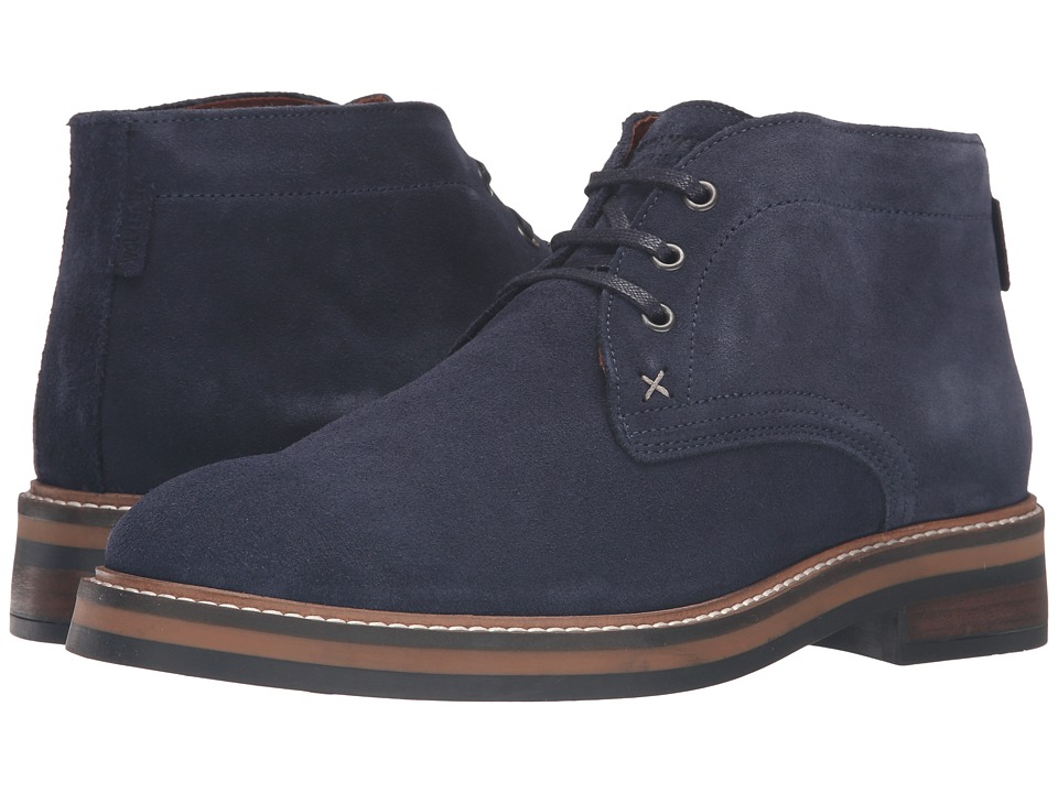 Wolverine - Francisco Chukka (Navy Suede) Men's Boots