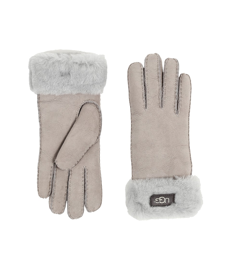 UGG - Classic Turn Cuff Glove (Seal) Extreme Cold Weather Gloves