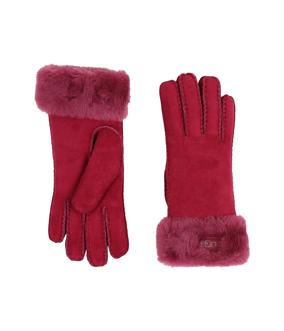 UGG - Classic Turn Cuff Glove (Lonely Hearts) Extreme Cold Weather Gloves