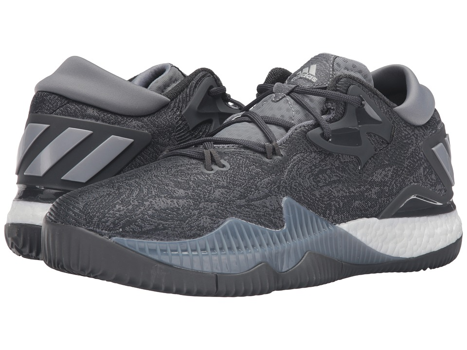 adidas - Crazylight Boost Low (Grey/White) Men's Basketball Shoes