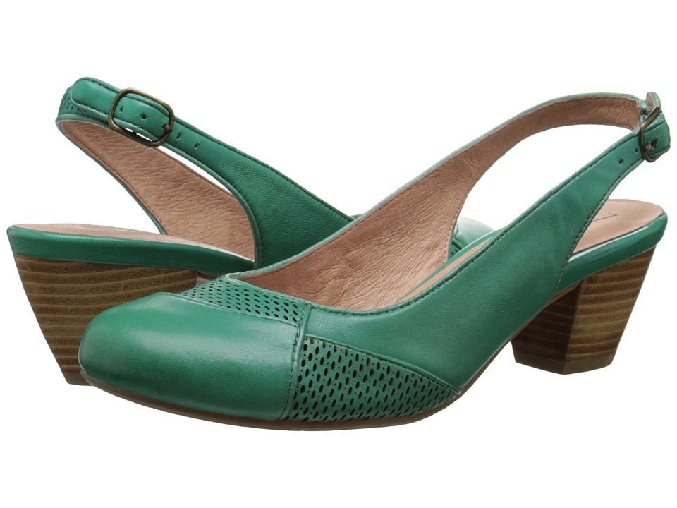 Miz Mooz - Faustine (Green) High Heels