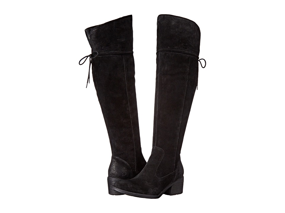 Born - Gallinara (Black Distressed) Women's Boots