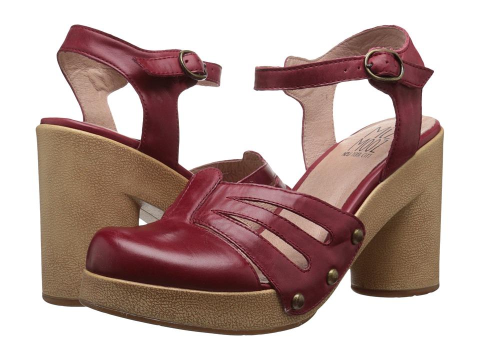 Miz Mooz - Ruby (Wine) Women's Clog/Mule Shoes