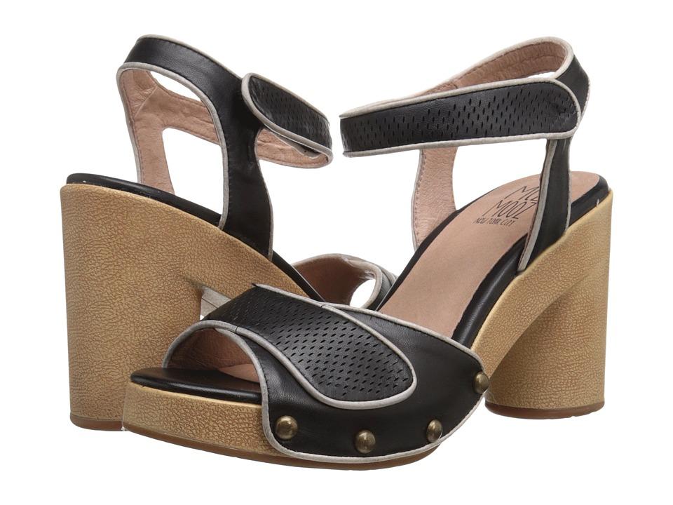 Miz Mooz - Ronnie (Black) Women's Clog/Mule Shoes