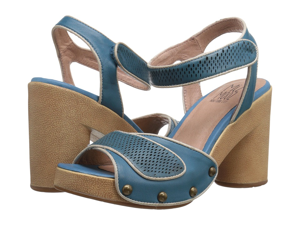 Miz Mooz - Ronnie (Blue) Women's Clog/Mule Shoes
