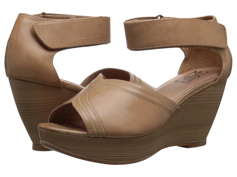 Miz Mooz - Yasmina (Nude) Women's Clog/Mule Shoes
