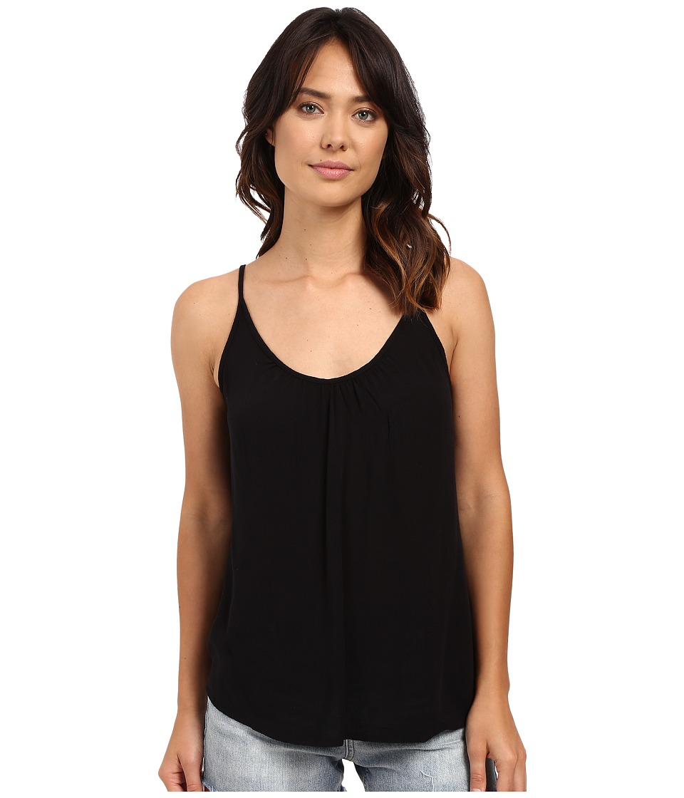 Roxy - Sea to Sea Woven Top (True Black) Women's Sleeveless