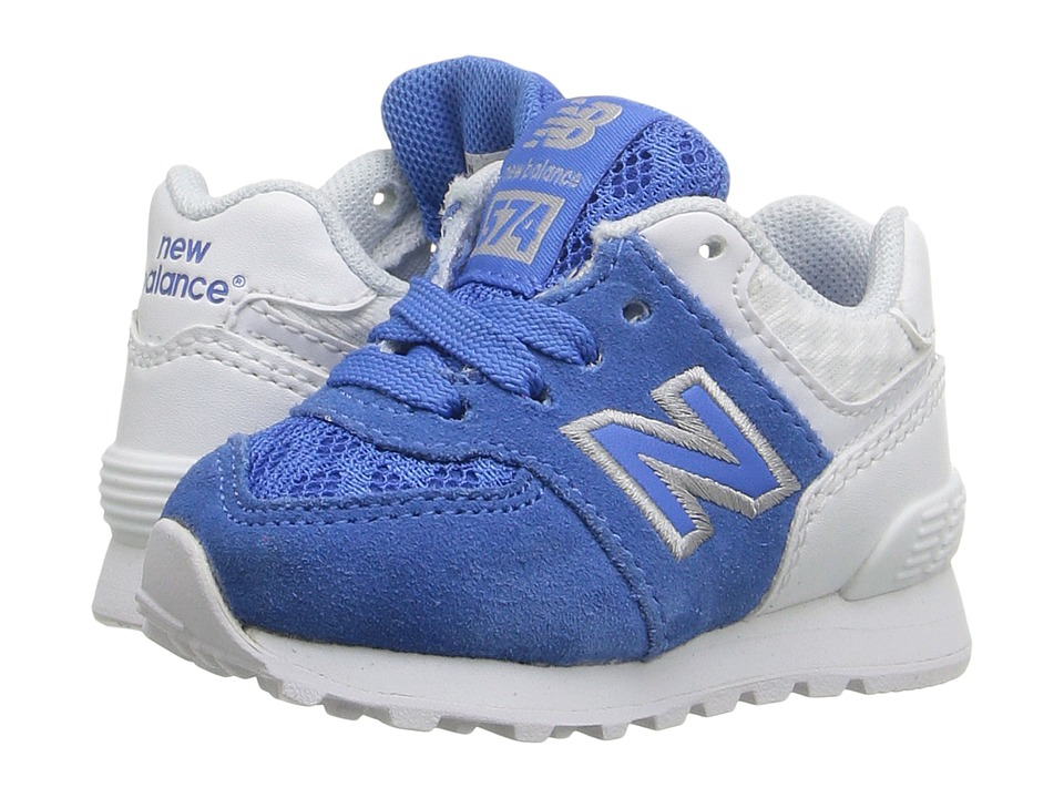 New Balance Kids - 574 Breathe (Infant/Toddler) (Blue/Grey) Boys Shoes