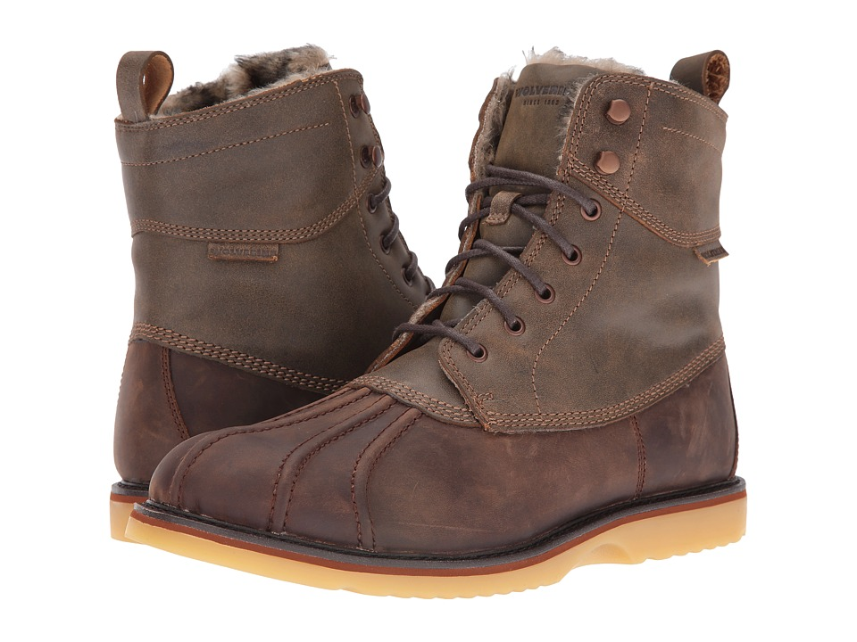 Wolverine - Felix 6 Duck Boot (Brown Multi Leather) Men's Work Boots