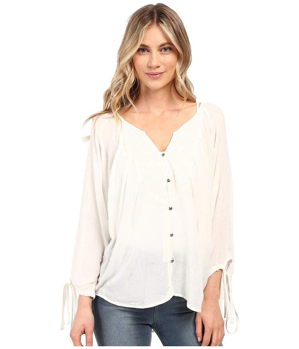Roxy - Sunset Smooch Top (Pristine) Women's Clothing