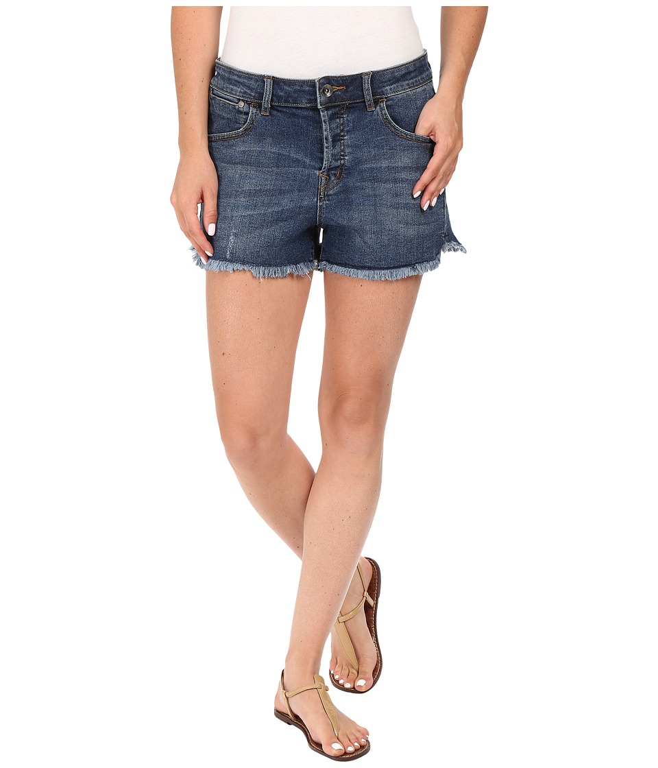 Roxy - Breaking Us Denim Shorts (Dark Medium Wash) Women