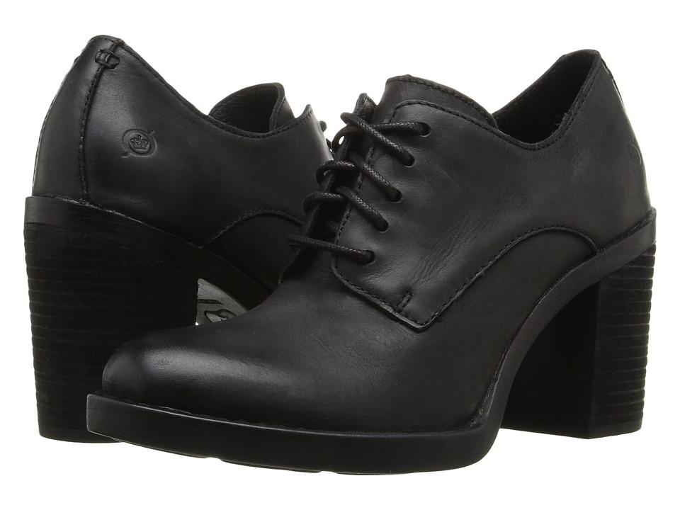 Born - Jolene (Black Full Grain Leather) Women's Shoes