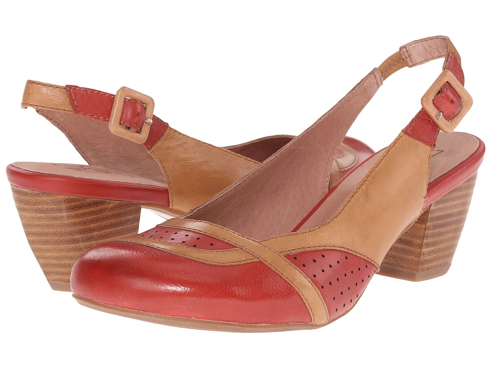 Miz Mooz - Tampa (Red) Women's Flat Shoes