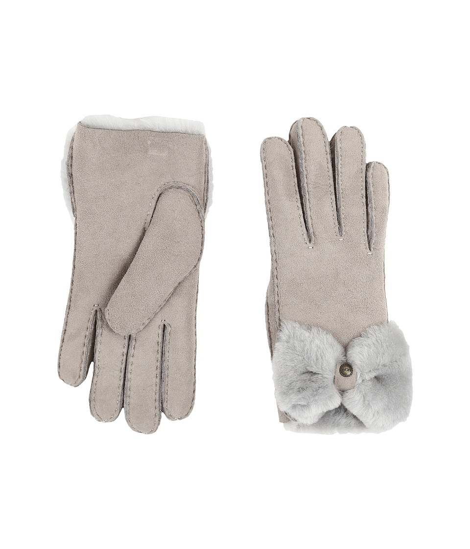 UGG - Classic Bow Shorty (Seal) Dress Gloves