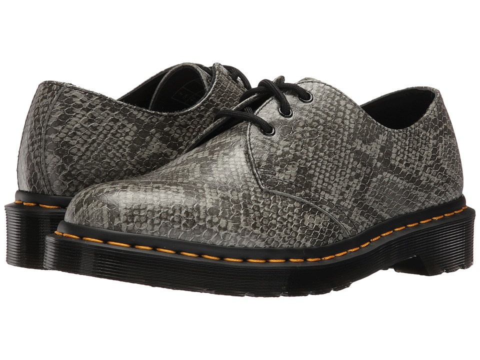 Dr. Martens 1461 ASP 3-Eye Shoe (Light Grey Viper) Women