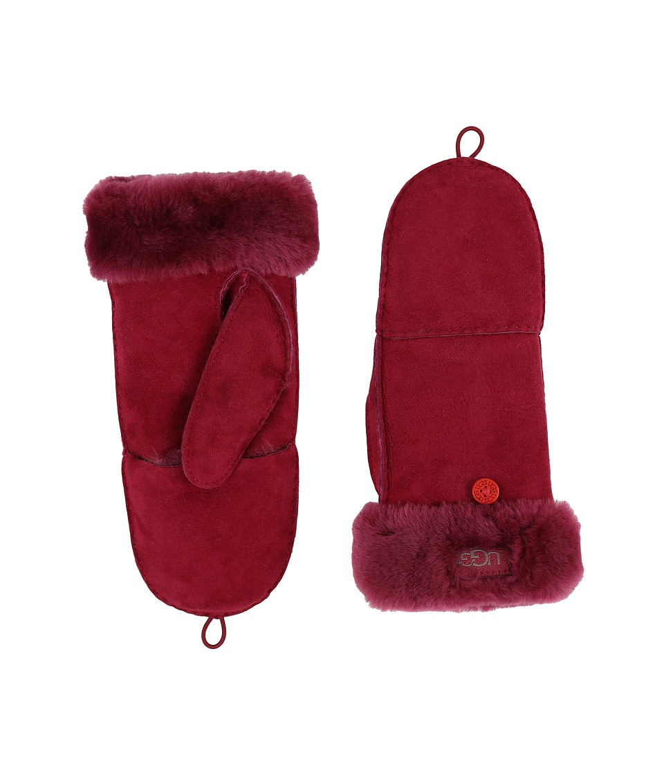 UGG - Shearling Flip Mitten (Lonely Hearts) Wool Gloves