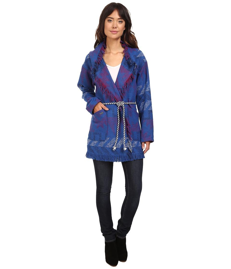 Roxy - Santa Katalina Jacket (Outlands Palace Blue) Women's Coat