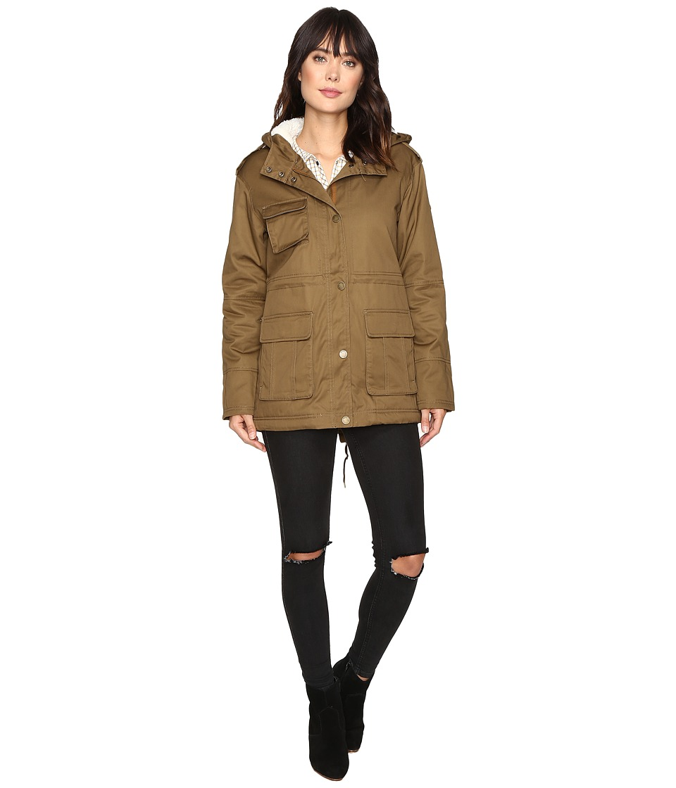 Roxy - Aleho Class Jacket (Military Olive) Women's Coat