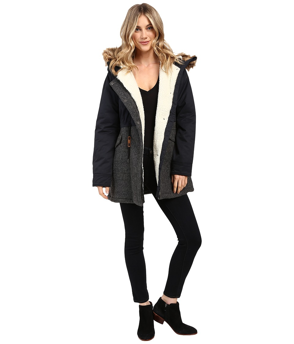 Roxy - Anzoras Land Parka (True Black) Women's Coat