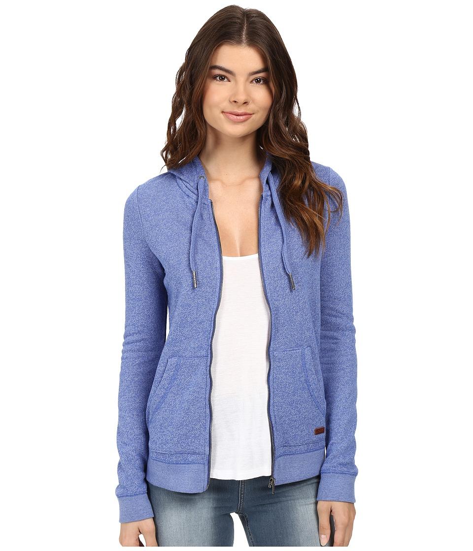 Roxy - Signature Hoodie (Dazzling Blue) Women's Sweatshirt