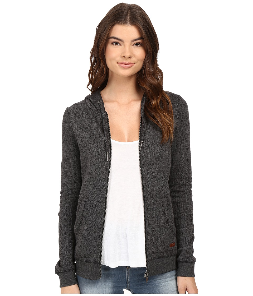 Roxy - Signature Hoodie (True Black) Women's Sweatshirt