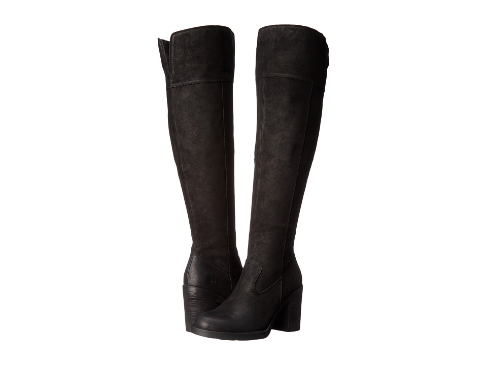 Born - Kathleen (Black Distressed) Women's Boots
