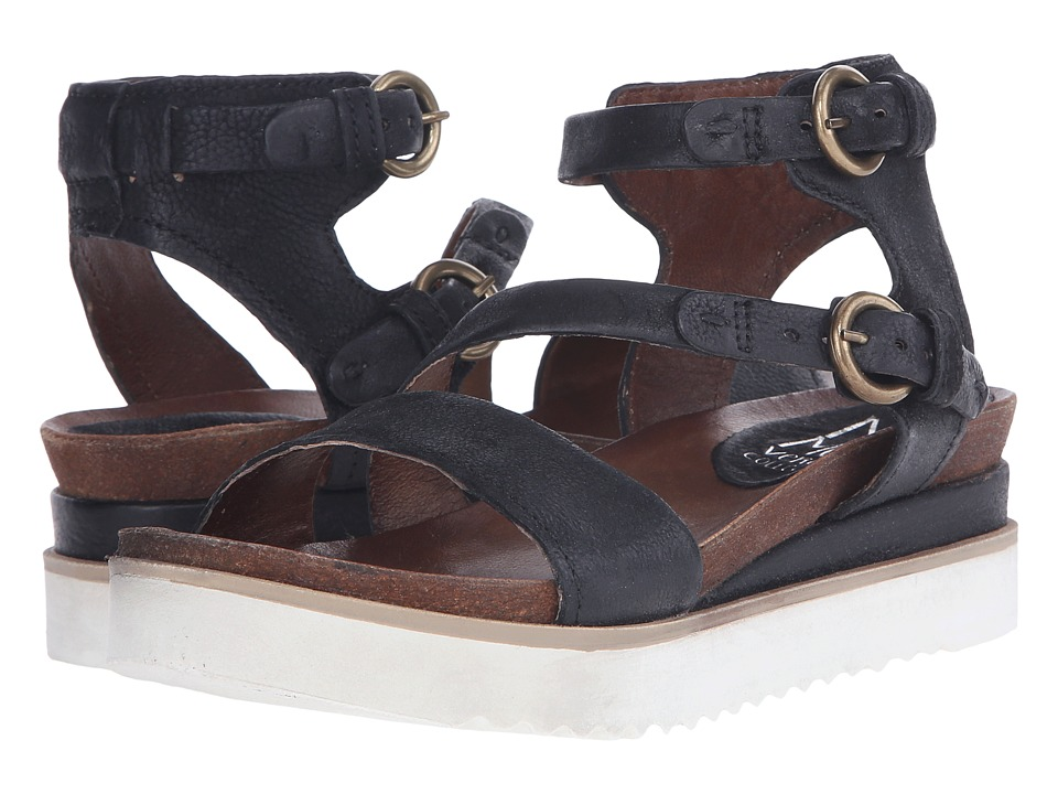 Miz Mooz - Priam (Black) Women's Sandals