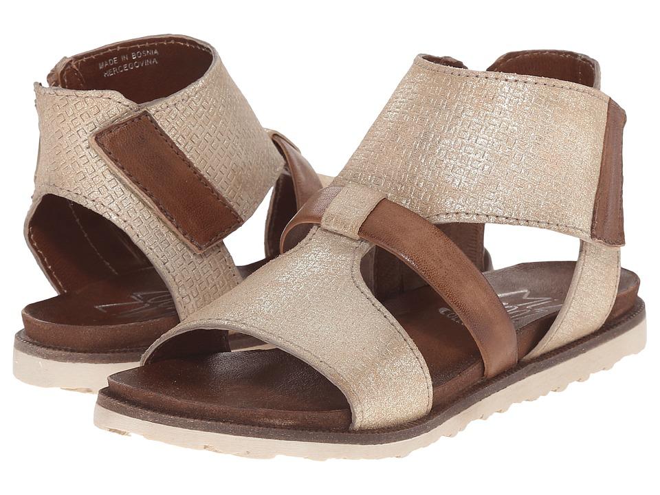 Miz Mooz - Tamsyn (Gold) Women's Sandals