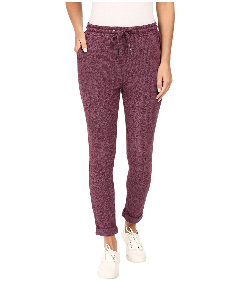 Roxy - Signature Feeling Pants (Italian Plum) Women's Casual Pants