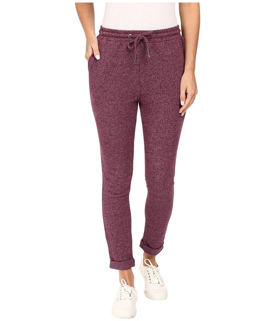 Roxy - Signature Feeling Pants (Italian Plum) Women's Casual Pants