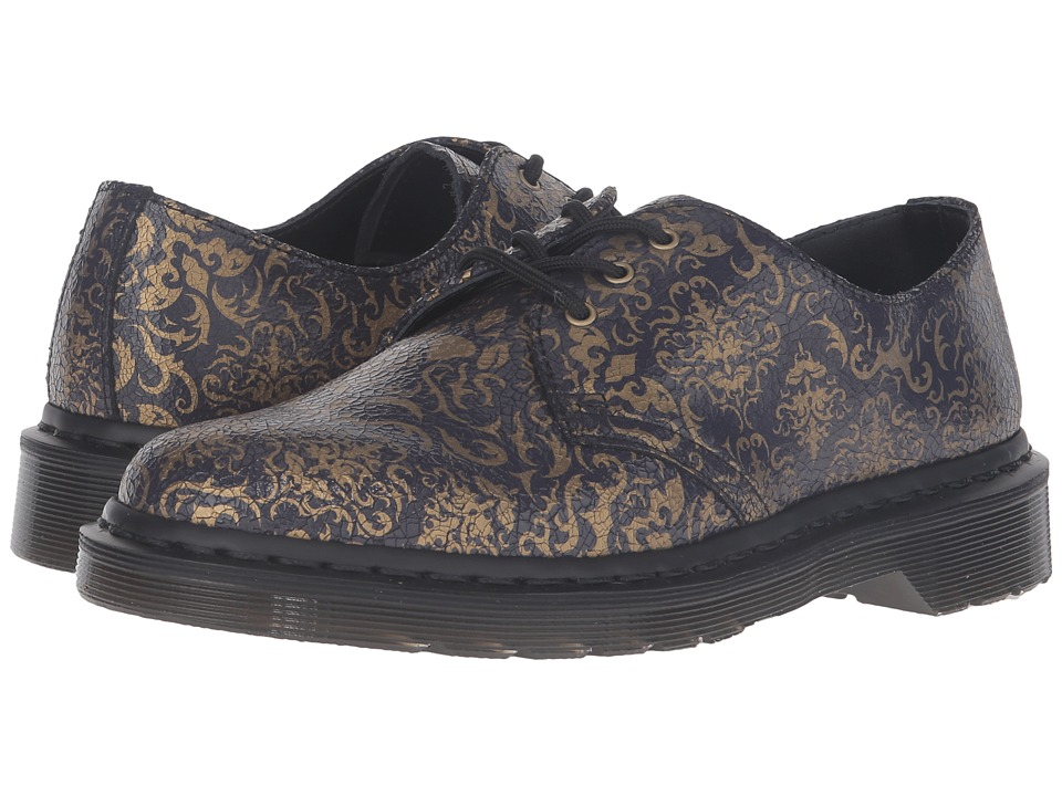 Dr. Martens 1461 BQ 3-Eye Shoe (Purple/Black Cristal Suede) Women