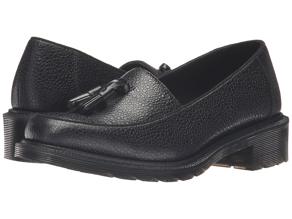 Dr. Martens - Favilla Tassel Slip-On Shoe (Black Stone) Women's Slip on Shoes