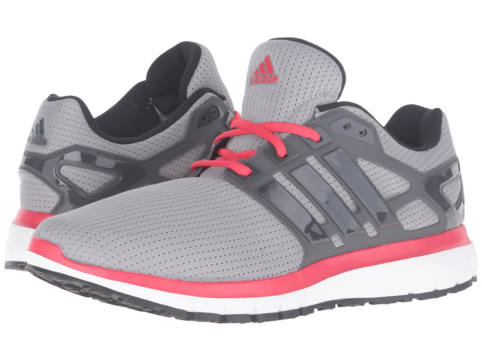 adidas - Energy Cloud (Grey/Red) Men's Shoes