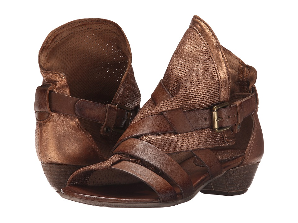 Miz Mooz - Cassidy (Bronze) Women's Sandals