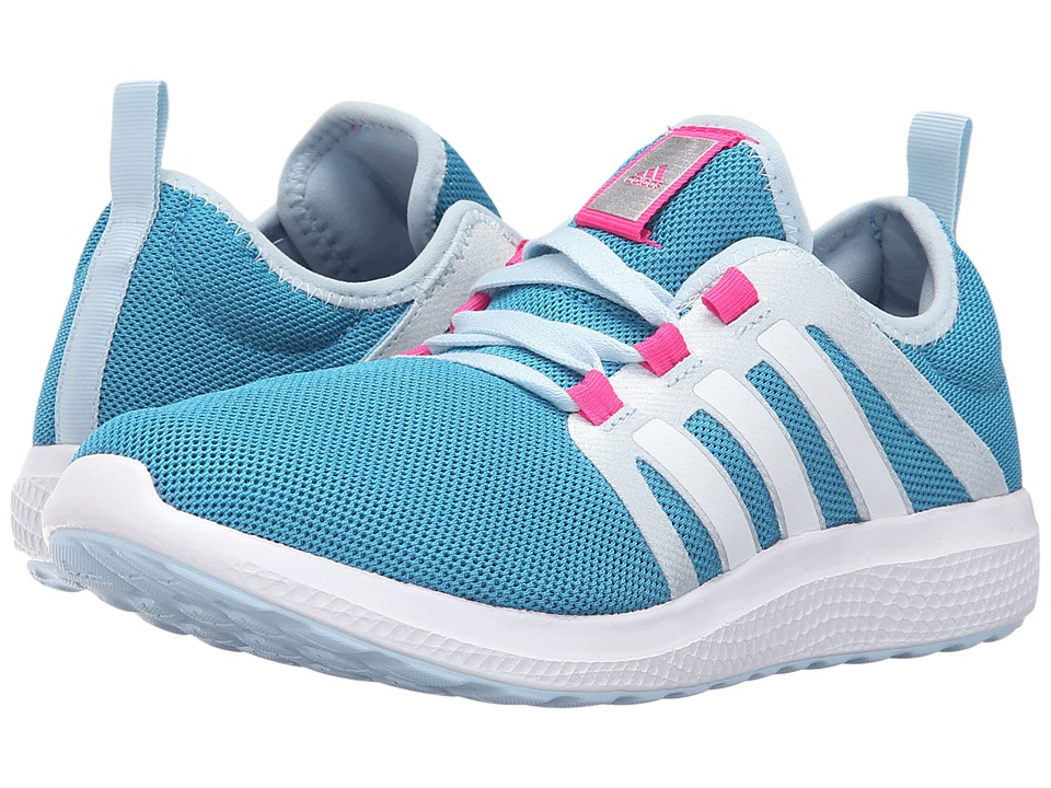 adidas Running - Fresh Bounce (Craft Blue/White/Ice Blue) Women's Shoes