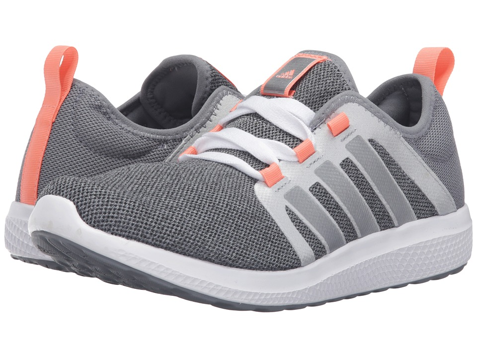 adidas - Fresh Bounce (Grey/Silver) Women's Shoes