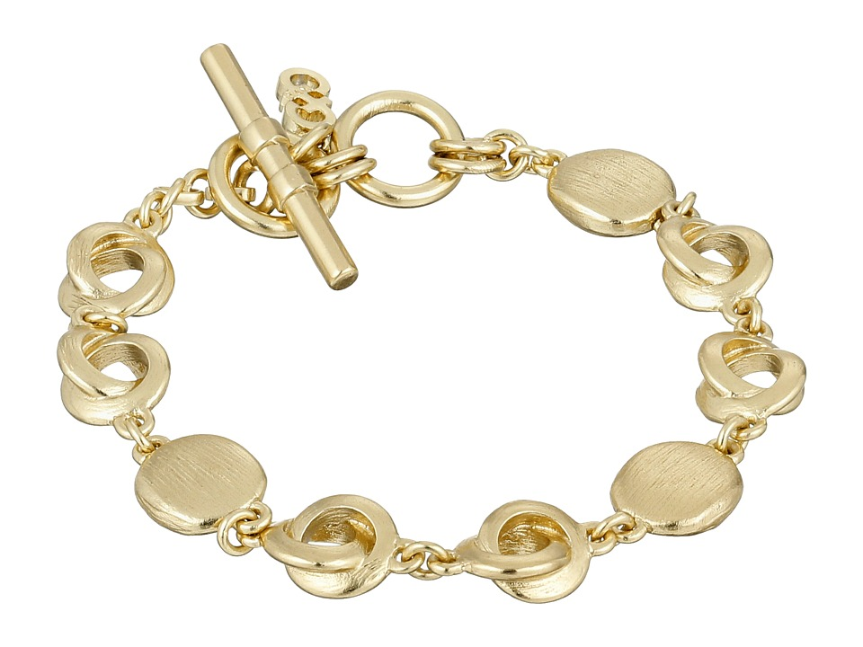 Cole Haan - Metal Link Bracelet (Brushed Gold) Bracelet
