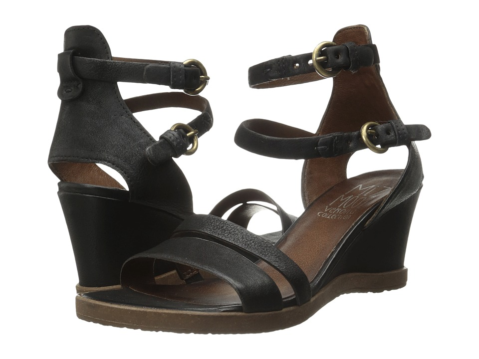 Miz Mooz - Bibi (Black) Women's Dress Sandals