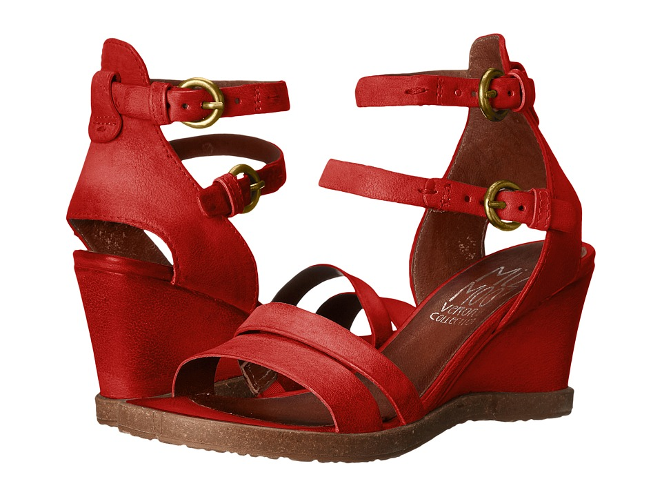 Miz Mooz - Bibi (Red) Women's Dress Sandals
