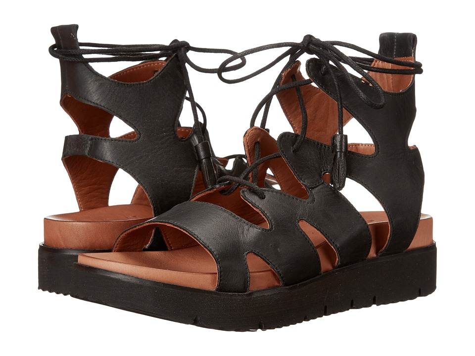 Miz Mooz - Tori (Black) Women's Dress Sandals