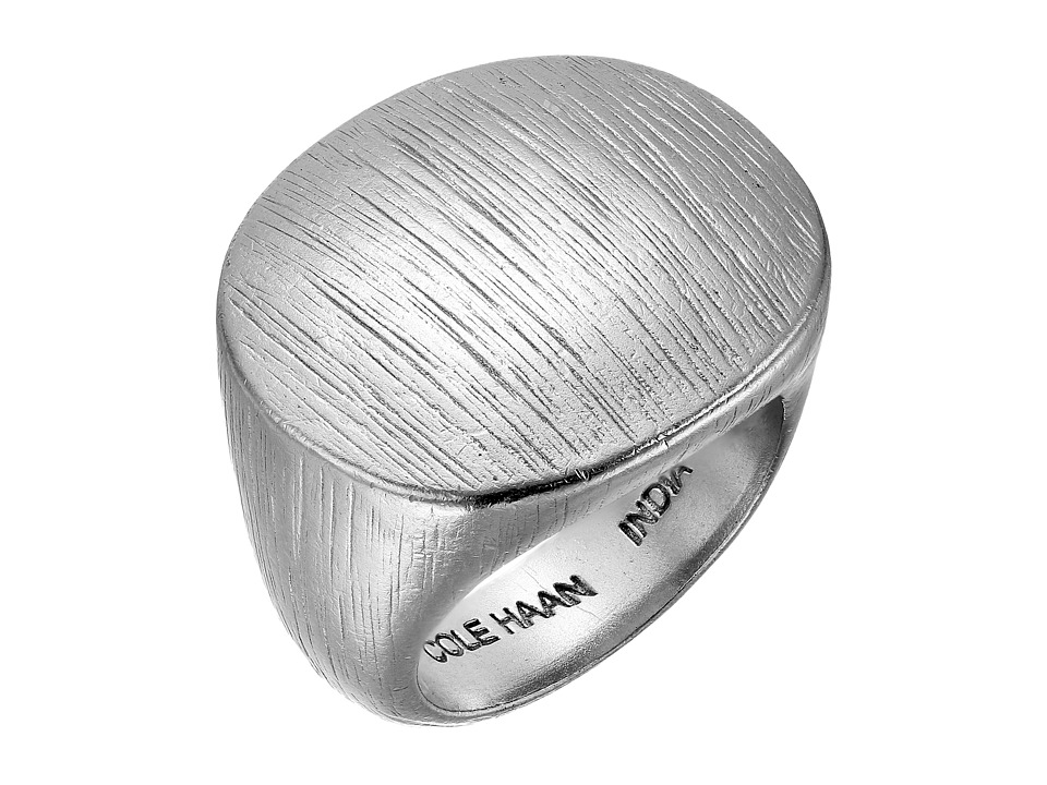 Cole Haan - Metal Ring (Brushed Silver) Ring