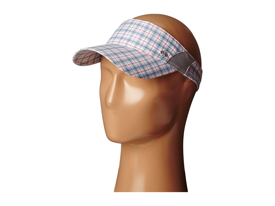 Columbia - Silver Ridge Tech Womens Visor (Beacon Plaid) Casual Visor